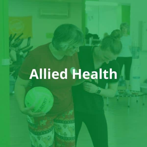 Allied Health Service at Your Health Hub