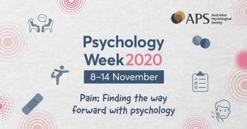 Psychology week 2020 poster
