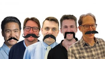 Your Health Hub Movember team